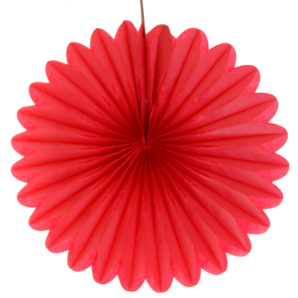 Red Fan Decorations