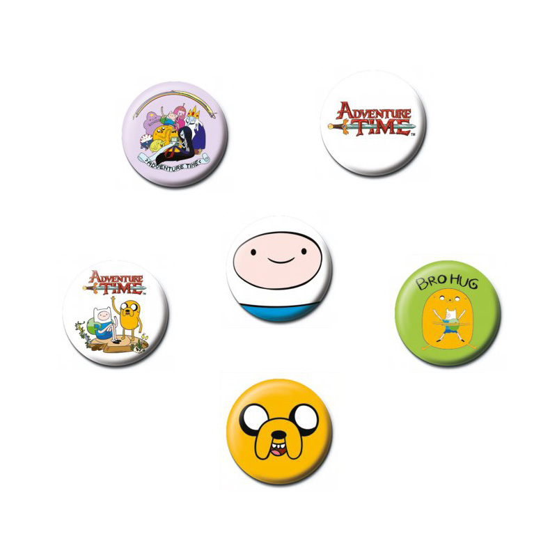 AdventureTimeBadges