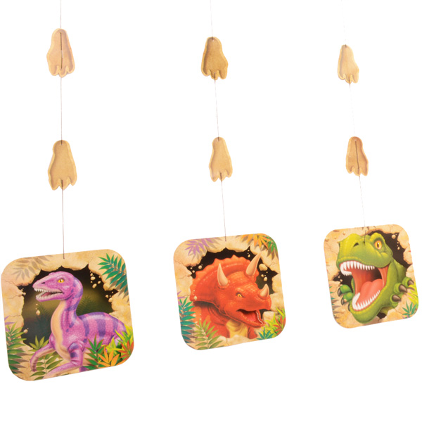 Dino Blast Hanging Cut Outs