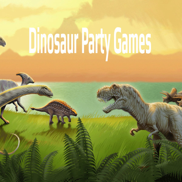 Dinosaur-Party-Games