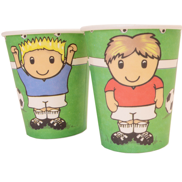 Football Party Paper Cups