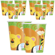 Jungle-Animal-Cups-230