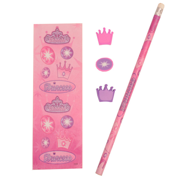 Princess Stationary Set
