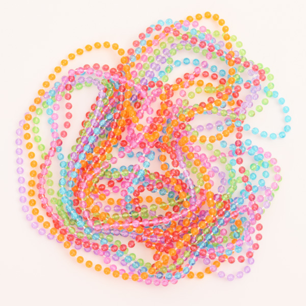 6 Bead Necklaces (net bag)