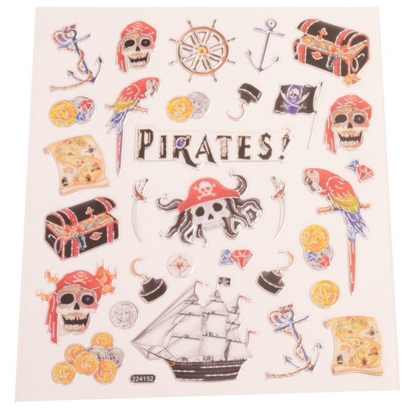 Fancy Pirate Stickers