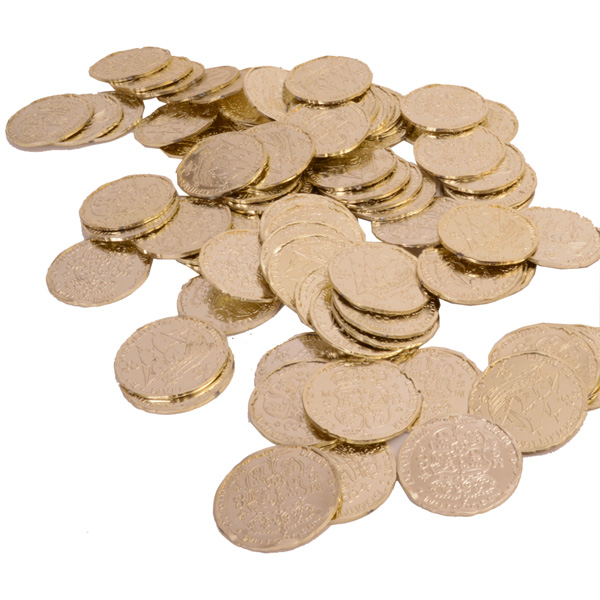 72 Pirate Coins