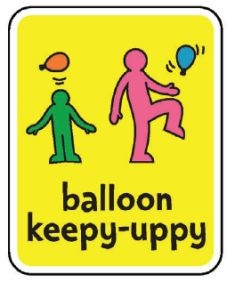 balloon keepy uppy