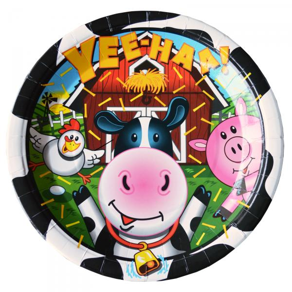 Farm-party-plate