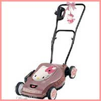 hello kitty mower