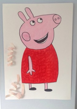 Pin the tail on Peppa Pig