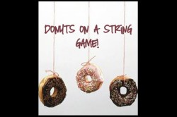 indoor party games doughnuts on a string game-250x166