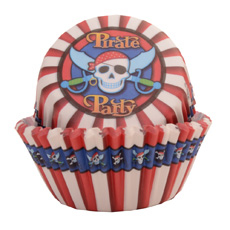 50 Pirate Party Cupcake Cases