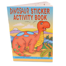 Dinosaur Activity Sticker Book