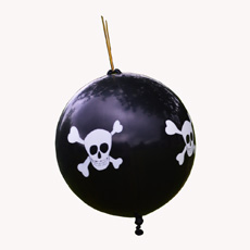 Pirate Punchball Balloons