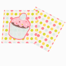 Sweet Treats Beverage Napkins 3 ply